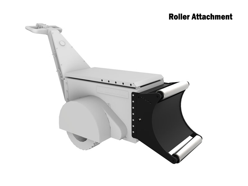 Dual Motor Super Power Pusher with HD Roller Attachment for pushing Cable Drums