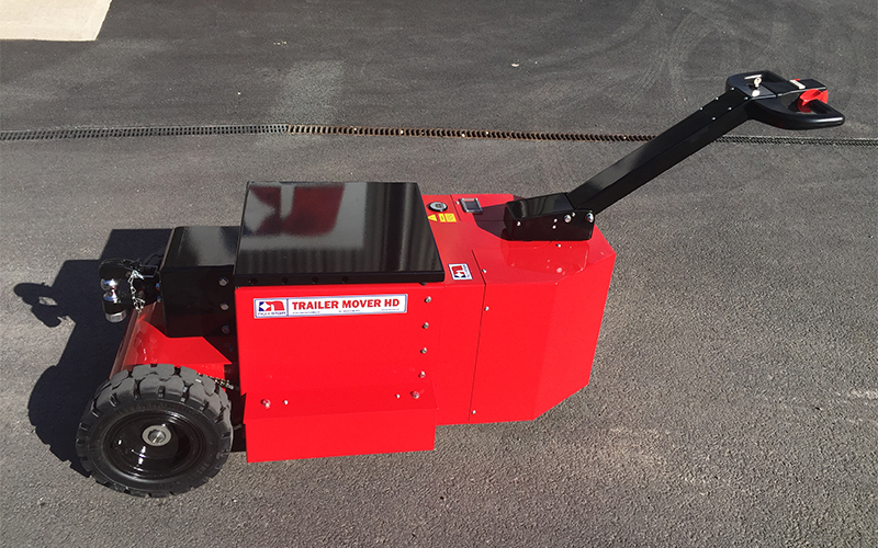 HD Trailer Mover with NATO specification towing hitch for moving airport Ground Support Equipment