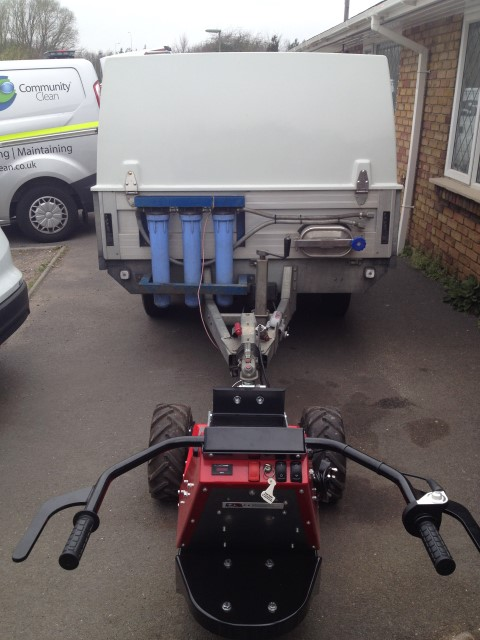 MUV Trailer Mover with 2,000Kg twin axle trailer