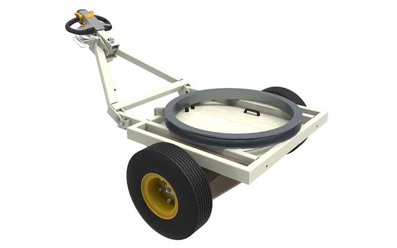 NuStar Demountable Traction Drive for Airport Ground Handling Equipment