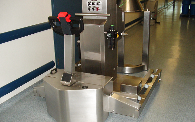 Stainless Steel PowerTug for Pharmaceutical appplication at Wyeth Medica